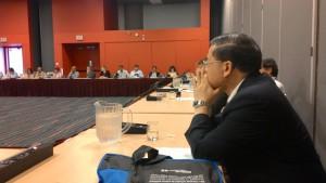 高理事長永光參與研討會分組討論現場